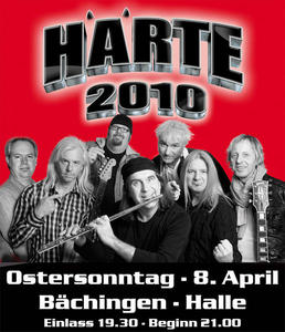 Oster-Rocknacht 2012 mit HÄRTE 2010 am So., 8. April 2012 in Bächingen a.d. Brenz