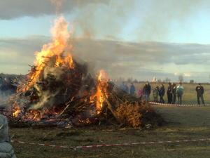 Osterfeuer 2012.