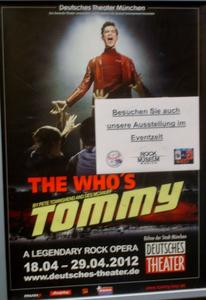 The Who`s Tommy im Deutschen Theater in München