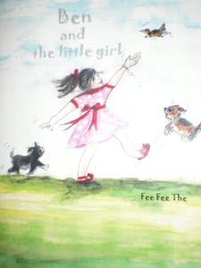Sweety kitty´s Buch, 'Ben and the little girl'...