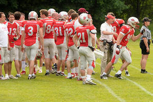 Football: Fursty Razorbacks - Straubing Spiders 28:07