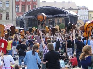 10th anniversary Thanks Jimi Festival and Guitar Guinness World Record - Wroclaw/Polen