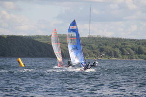 Internationale Deutsche Meisterschaft 2012 der 29er-Bootsklasse