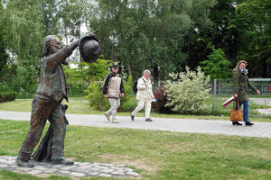 In Lübeck: Der sympathische Bronze-Brahms am Traveufer