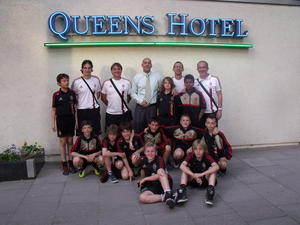 AC Milan im Queens Hotel Hannover