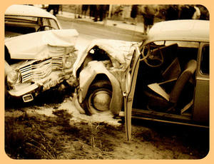 Crash Käfer - Kadett, 1967