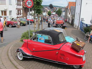Das Motto: Musik, Motoren, Legenden, bei den ,,Golden Oldies' in Wettenberg