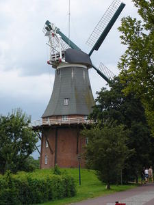 Holländerwindmühle in Greetsiel