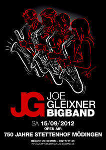 Open-Air-Party mit der JOE GLEIXNER BIGBAND