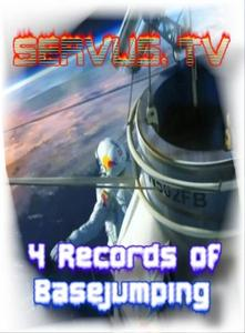 Felix Baumgartner's Record's live in TV