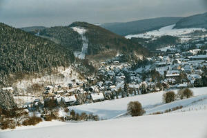 Willingen (Upland) im Winter