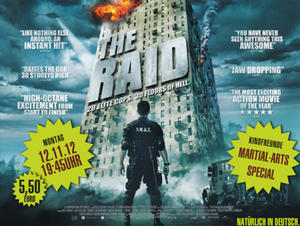 12.11. THE RAID - Martial-Arts-Special im Cineplex Memmingen