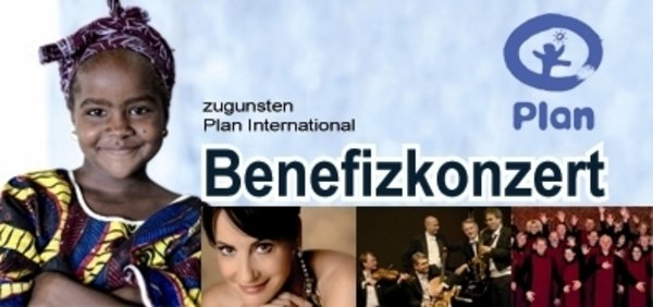 Benefizkonzert zugunsten Plan International mit Anna Maria Kaufmann u.a.