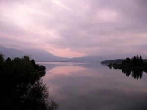 Herbstabend am Forggensee