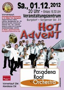 Pasadena Roof Orchestra gastiert am 01.12.2012 in Burgdorf