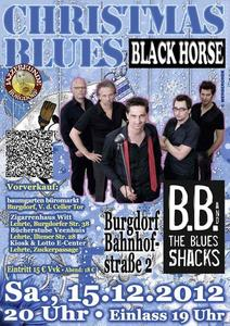 Christmas Blues mit B.B. & The Blues Shacks im BLACK HORSE