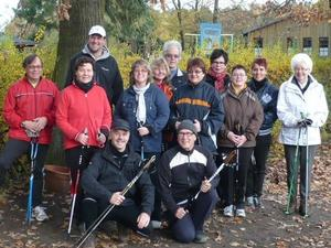 Nordic Walking beim TSV 03 Sievershausen