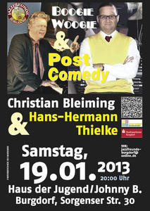 Boogie Woogie und Post Comedy