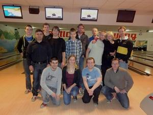 Hapkido College goes Bowling