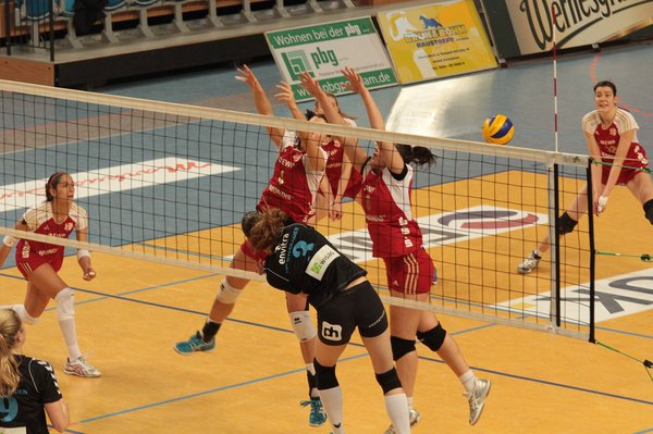 volleyball, volleyball-in-potsdam, ibundesliga-damen