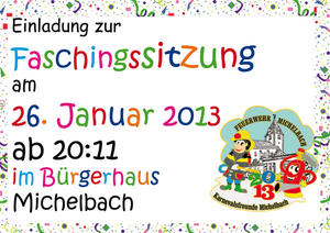 Fasching in Michelbach am 26.01.2013