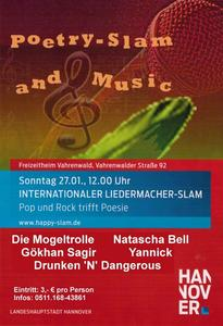 1. Internationaler Lieder-Slam Hannover