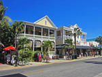 Key West - Florida - USA.                                          Stadtbummel.