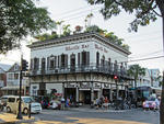 Key West - Florida - USA.                                          Stadtbummel.                                                                        Whistle Bar. The Bull.