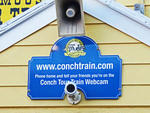 Key West - Florida - USA.                                             Conch Tour Train.