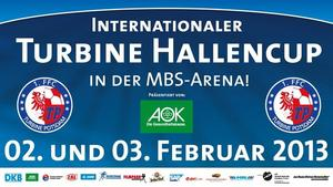 Internationaler Turbine-Hallencup am 02./03. Februar 2013 in der MBS-Arena von Potsdam
