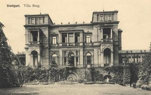 Villa Berg in alter Pracht.