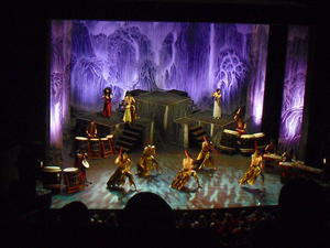 """ TAO ' . . .  'The Samurei of The Drums"". . . ein Erlebnis im Theater am Aegi in Hannover"