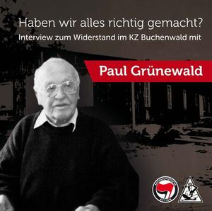 CD-Cover Interview Paul Grünewald