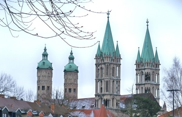 naumburger-dom, im-winter