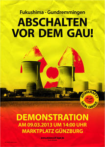 Fukushima 2011 – Gundremmingen 2013