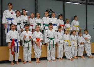 Karate-Kids starten in die Rangliste 2013