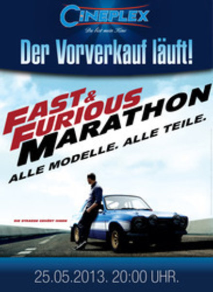 fast furious marathon im cineplex memmingen. Black Bedroom Furniture Sets. Home Design Ideas