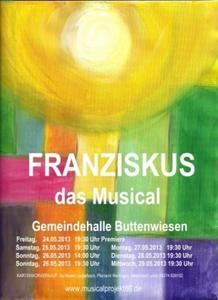 Neues Franziskus-Musical in Buttenwiesen nach Pfingsten