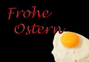 Frohe Ostern ...