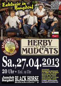 Herby & The Mudcats am 27.04. in Burgdorf