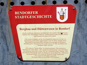 Bergbau in Bendorf...