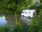 Hochwasser in Halle-Neustadt am 6.6.2013 !