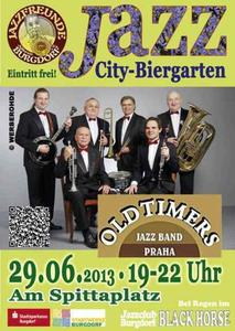 'Oldtimers Jazz Band' in Burgdorf