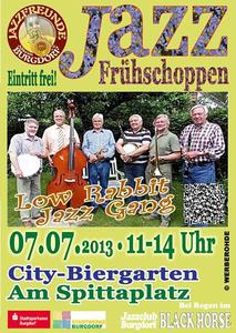 'Low Rabbit Jazz Gang' am 07.07. 2013 in Burgdorf
