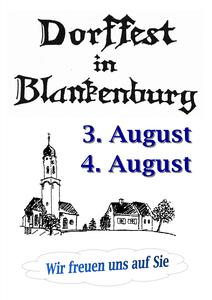 Dorffest in Blankenburg