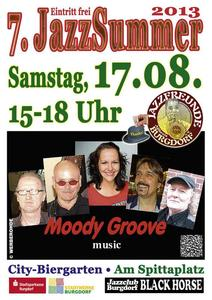 'Moody Groove' am 17.08. 2013 in Burgdorf