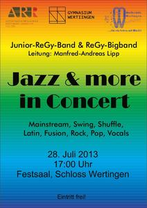 Musikschule Wertingen: Jazz & more in Concert