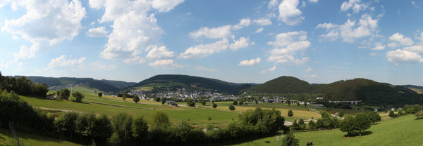landschaft, panorama, willingen