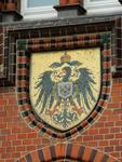 Wappen an der Post