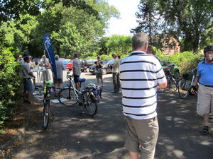 Start in Ehlershausen